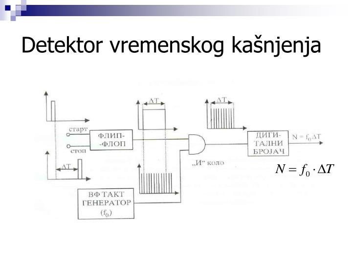 Detektor vremenskog kašnjenja