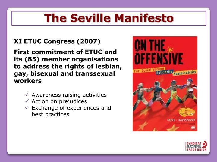 The seville manifesto