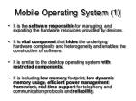 mobile operating system 1