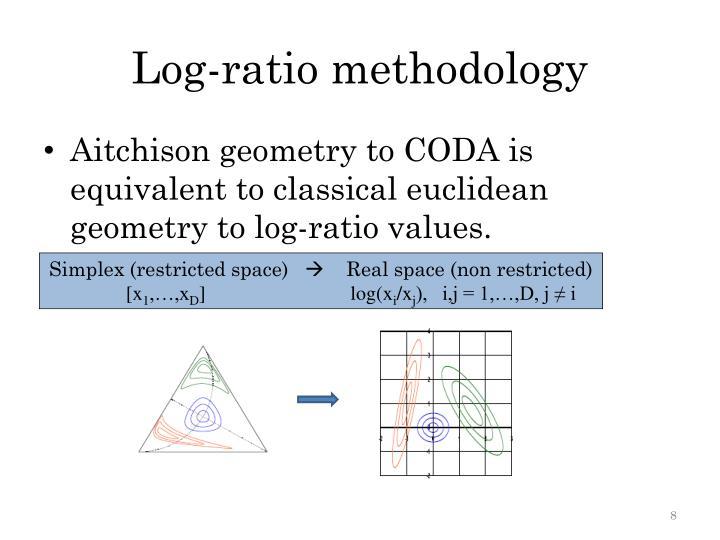 Log-ratio methodology