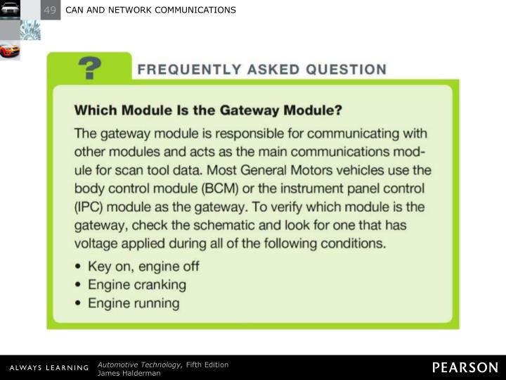 FREQUENTLY ASKED QUESTION: Which Module Is the Gateway Module?