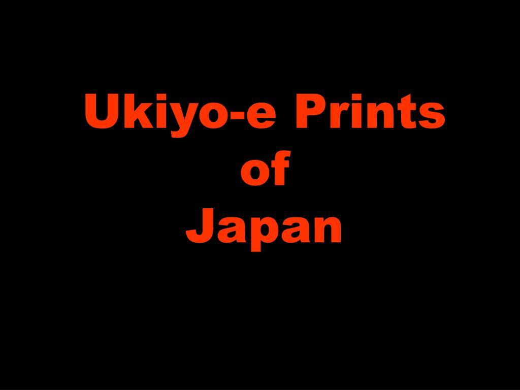 ppt ukiyo e prints of japan powerpoint presentation id 6774108
