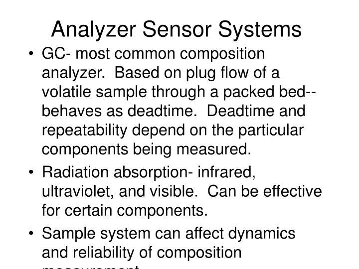 Analyzer Sensor Systems