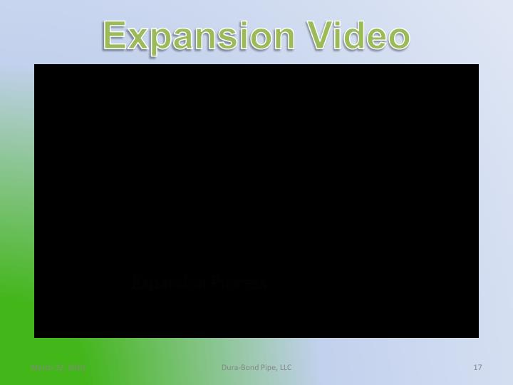 Expansion Video