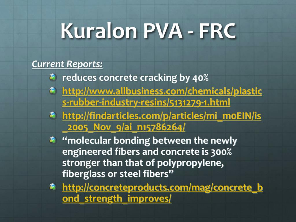 PPT - Kuralon™ PowerPoint Presentation - ID:6774514