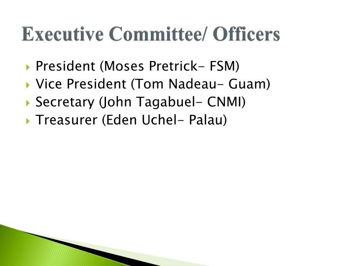 Executive Committee/ Officers