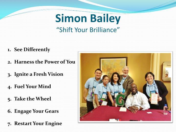 Simon Bailey