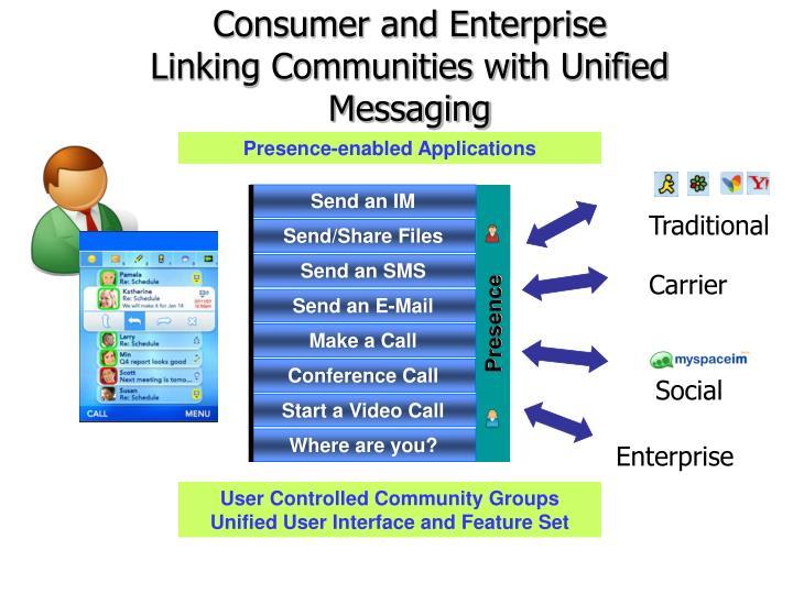 Consumer and Enterprise