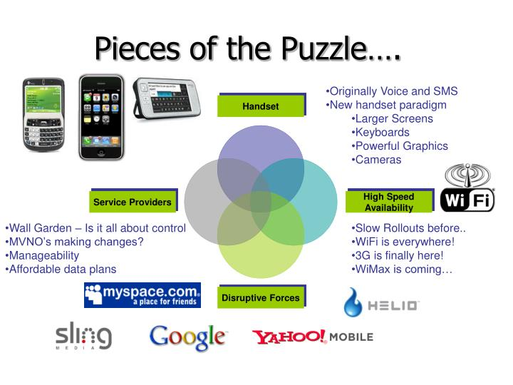 Pieces of the Puzzle….