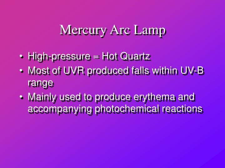 Mercury Arc Lamp