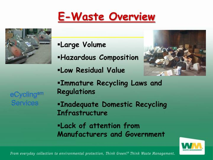 E-Waste Overview