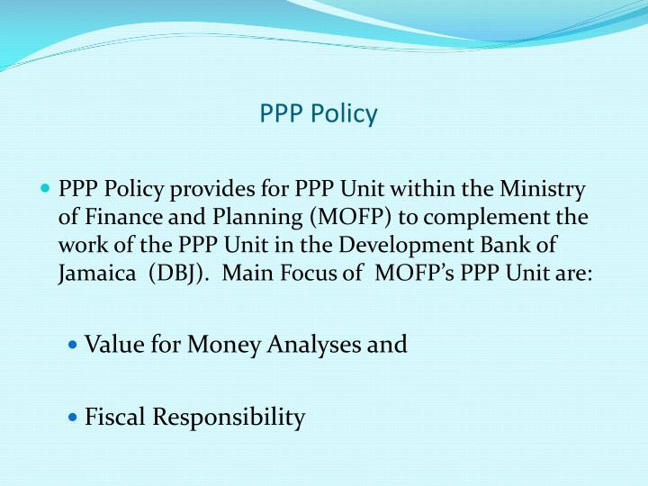 PPP Policy