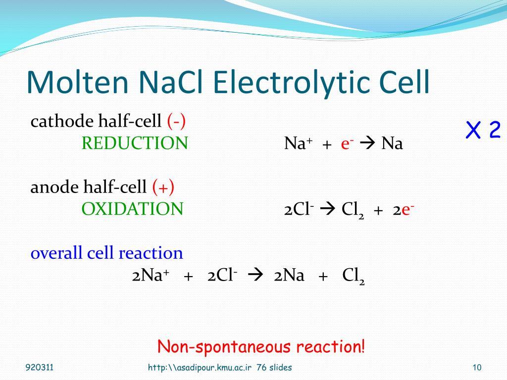 PPT - Electrochemistry PowerPoint Presentation - ID:6775540