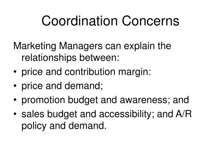 Coordination Concerns