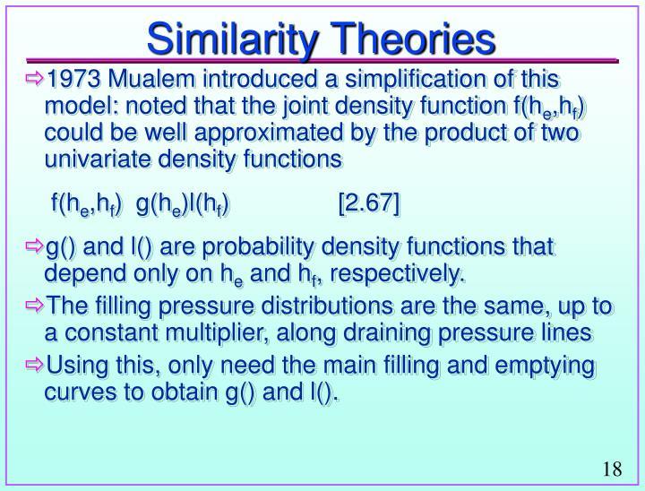 Similarity Theories