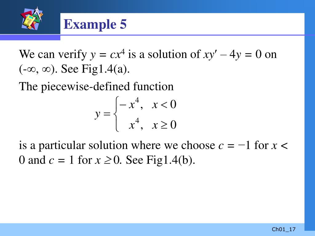 PPT - Ordinary Differential Equations PowerPoint