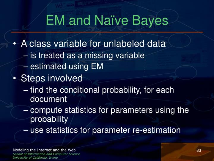 EM and Naïve Bayes
