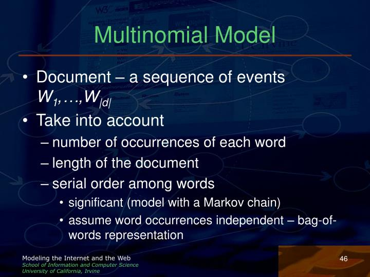 Multinomial Model
