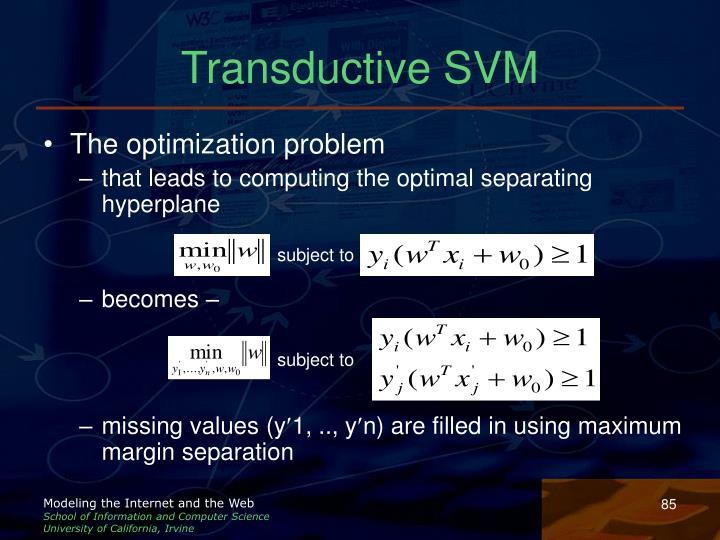 Transductive SVM