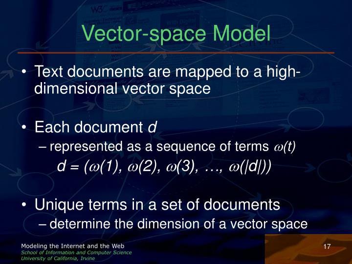 Vector-space Model