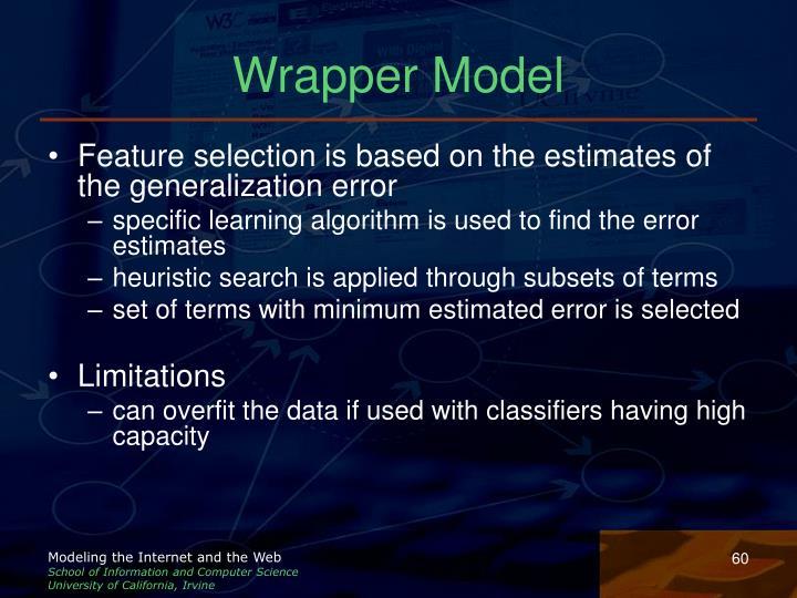 Wrapper Model