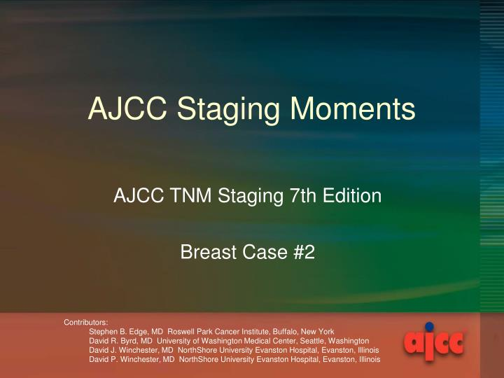 ajcc staging moments n.