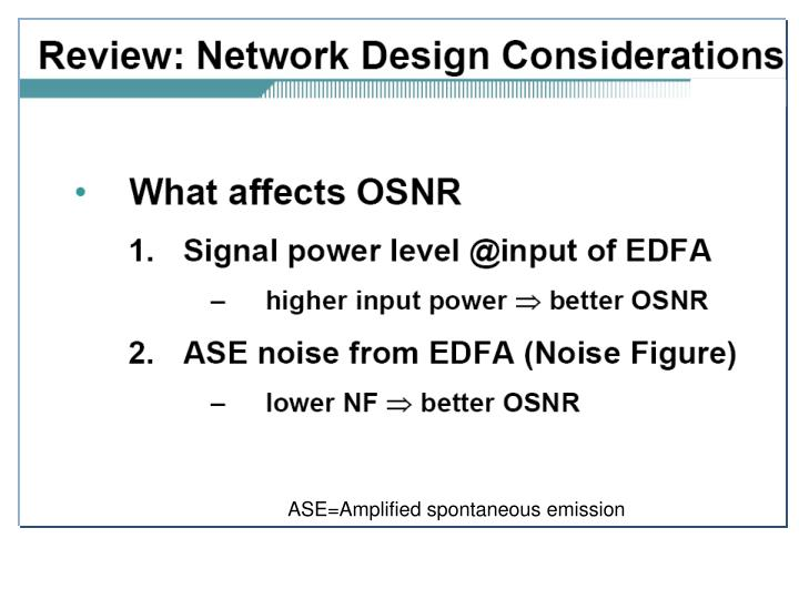 ASE=Amplified spontaneous emission