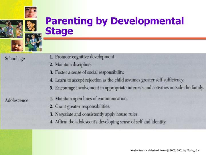 Parenting by Developmental