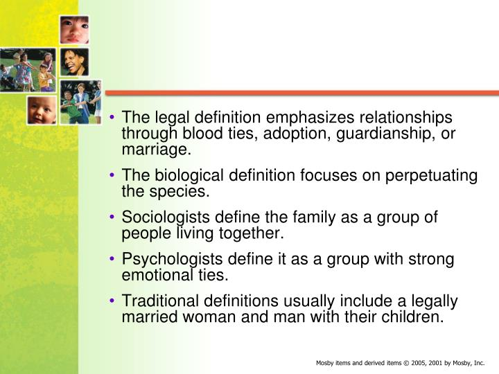 The legal definition