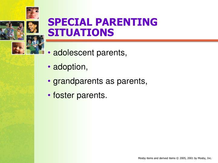 SPECIAL PARENTING