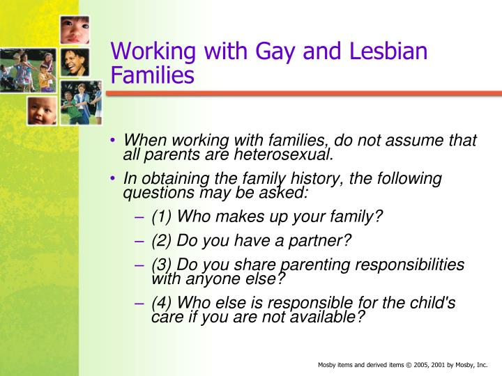 Working with Gay and Lesbian Families