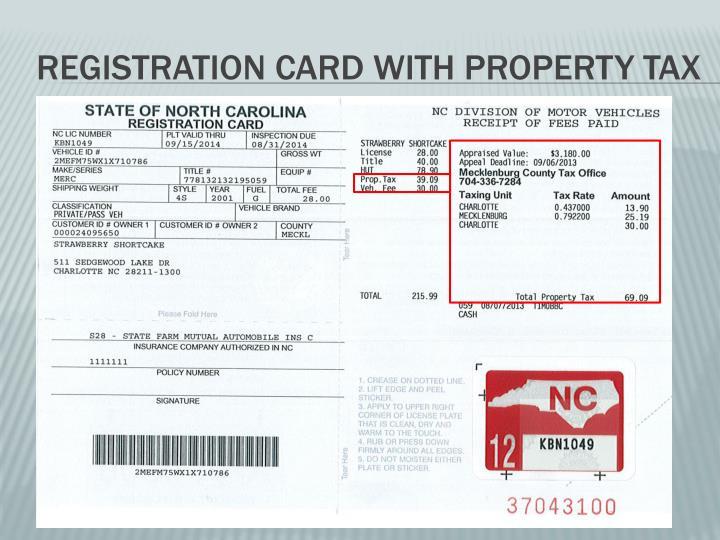Taxes Nc Property