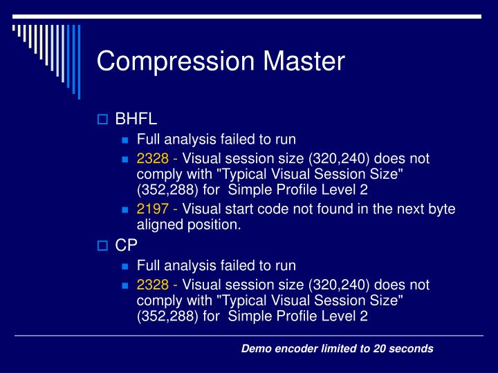 Compression Master