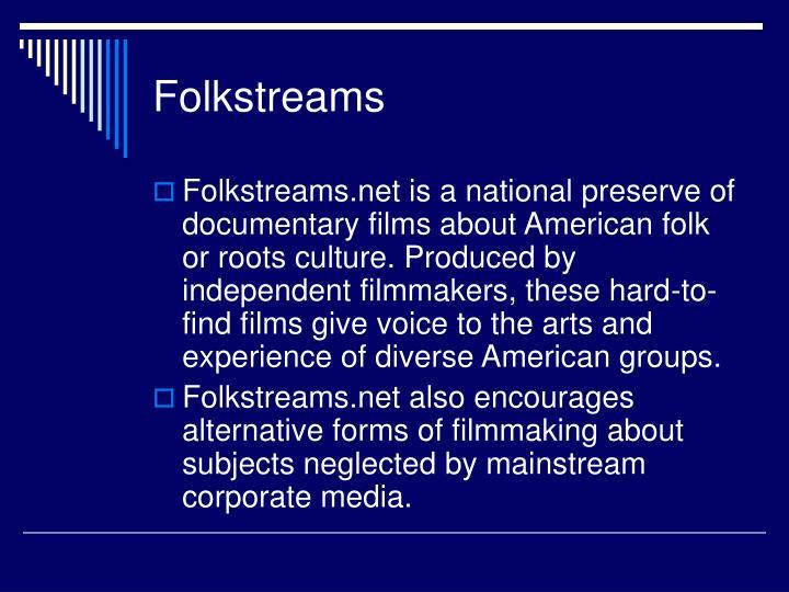 Folkstreams
