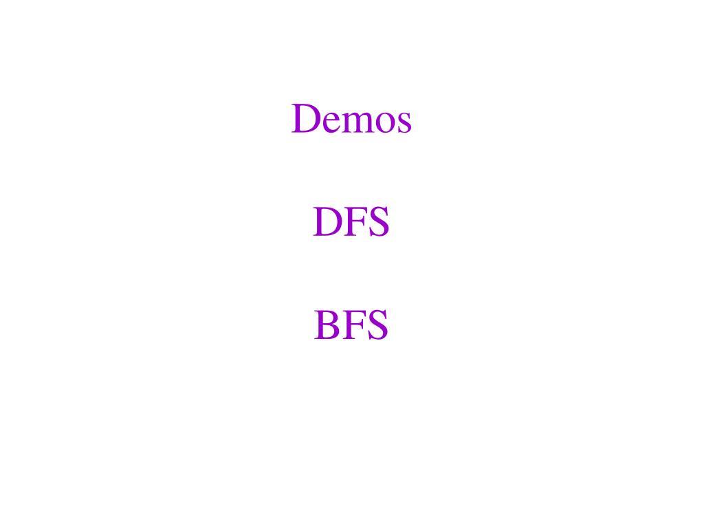 PPT - CSE 326: Data Structures Lecture #16 Graphs I: DFS & BFS