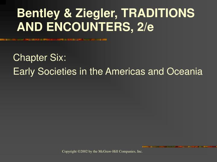 Chapter six early societies in the americas and oceania