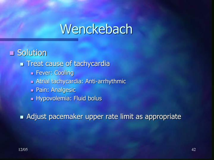 Wenckebach