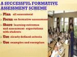 a successful formative assessment scheme2