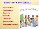 methods of assessment1