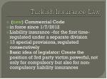 turkish insurance law