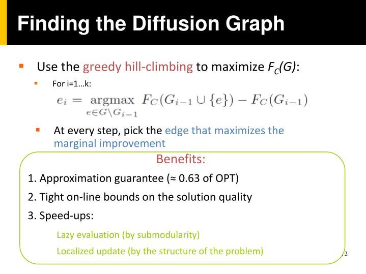 Finding the Diffusion Graph