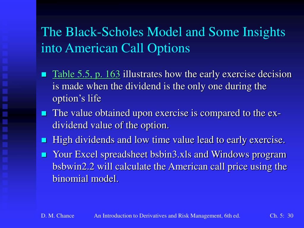 Ppt Chapter 5 Option Pricing Models The Black Scholes Model Powerpoint Presentation Id 6777824