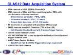 clas12 data acquisition system