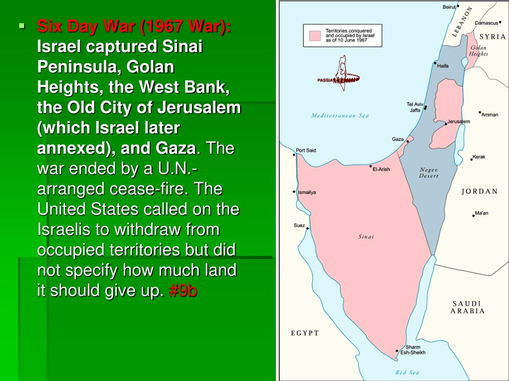 PPT - Arab-Israeli Conflict PowerPoint Presentation - ID:6778267
