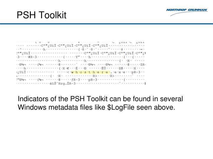 PSH Toolkit