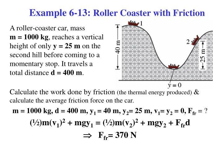 Example 6-13:
