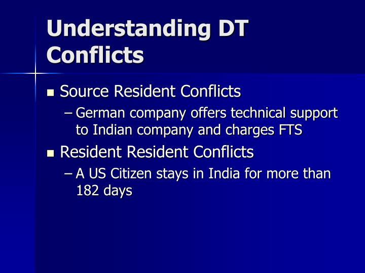 Understanding DT Conflicts