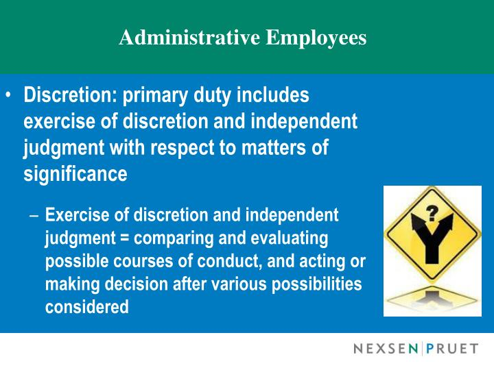 Administrative Employees
