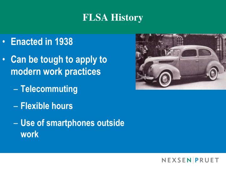 FLSA History