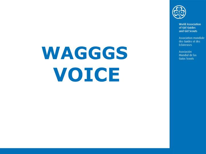 wagggs voice n.